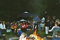 Kampvuuravond 2003