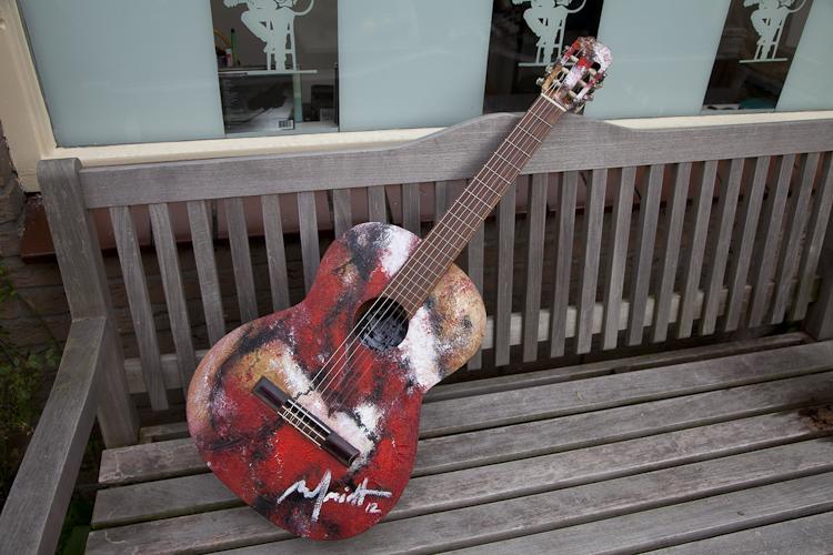 Paul Smidt gitaar